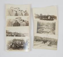 World War I Seven Real Photos and RPPC's