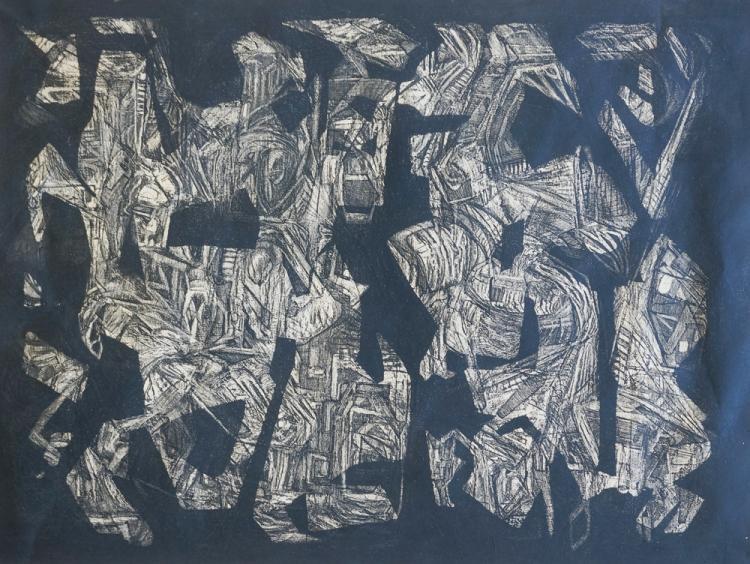 Stephen Magada (Ohio, 1926-1971) Mid-Century