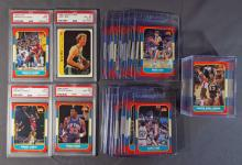1986-87 Fleer Basketball Near Complete Set