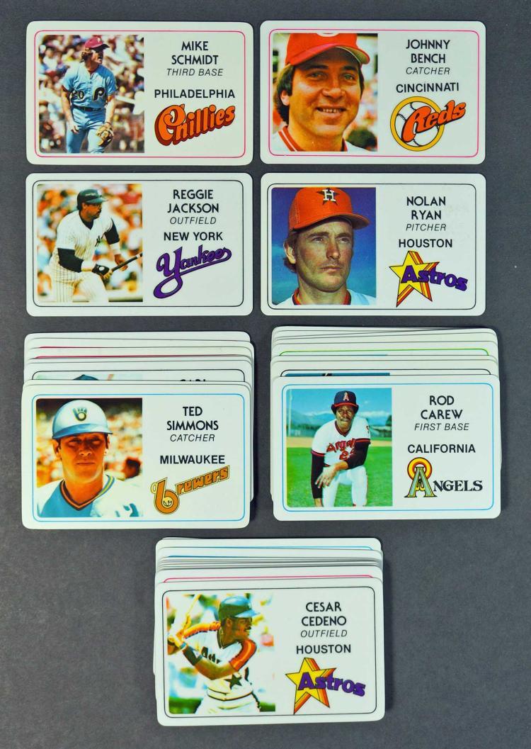 1981 Perma-Graphics Credit Card Baseball Card Set