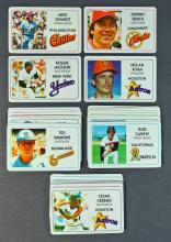 1981 Perma-Graphics Credit Card Baseball Card Set