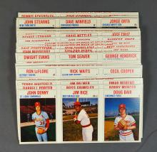 1979 Hostess Baseball Cards Complete Set