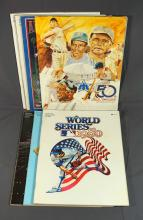 World Series and All-Star Game Programs