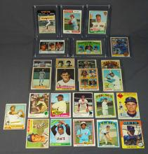 Vintage Baseball Cards Including Rookie Cards