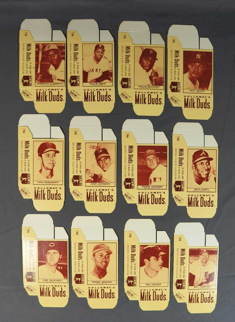 1971 Milk Duds Complete Boxes (12)