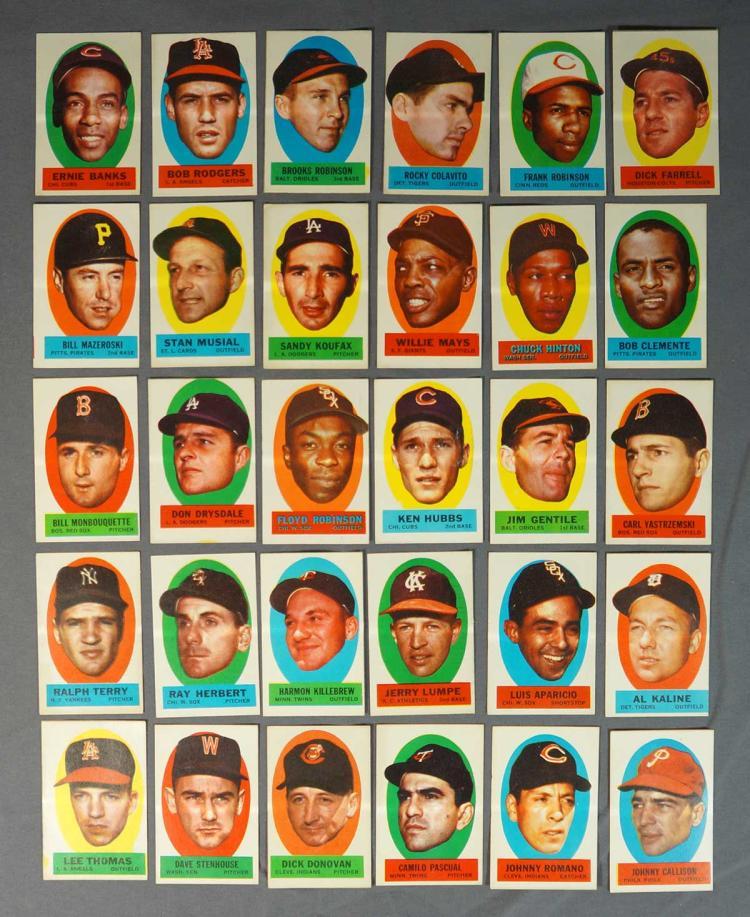1963 Topps Baseball Stickers