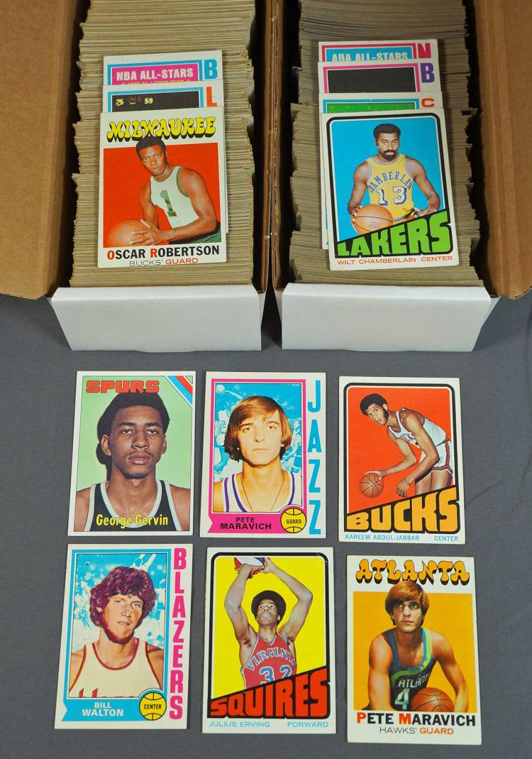1970's Topps Basketball Cards