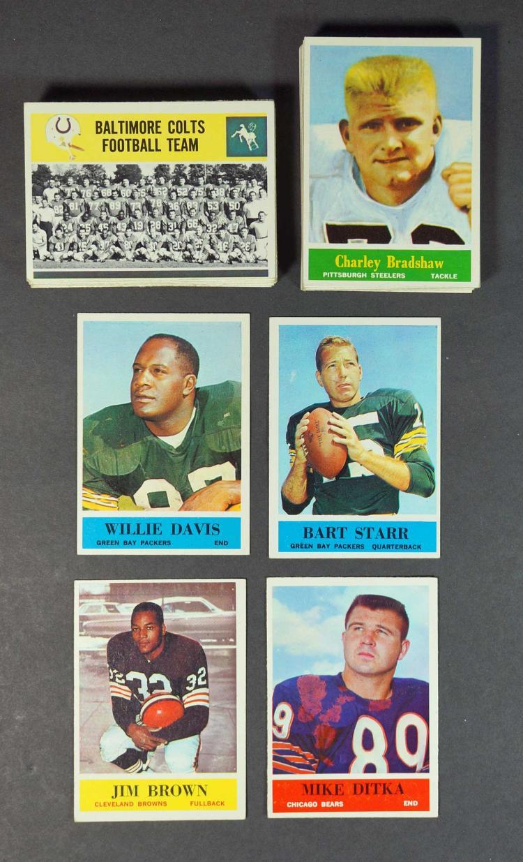 1964 Philadelphia Football Cards