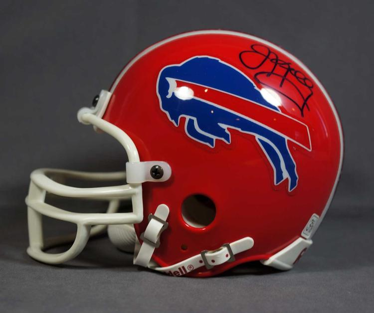 Jim Kelly Autographed Mini Helmet