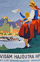 Hermann Kosel (1896-1983) ca.1930's Travel Poster