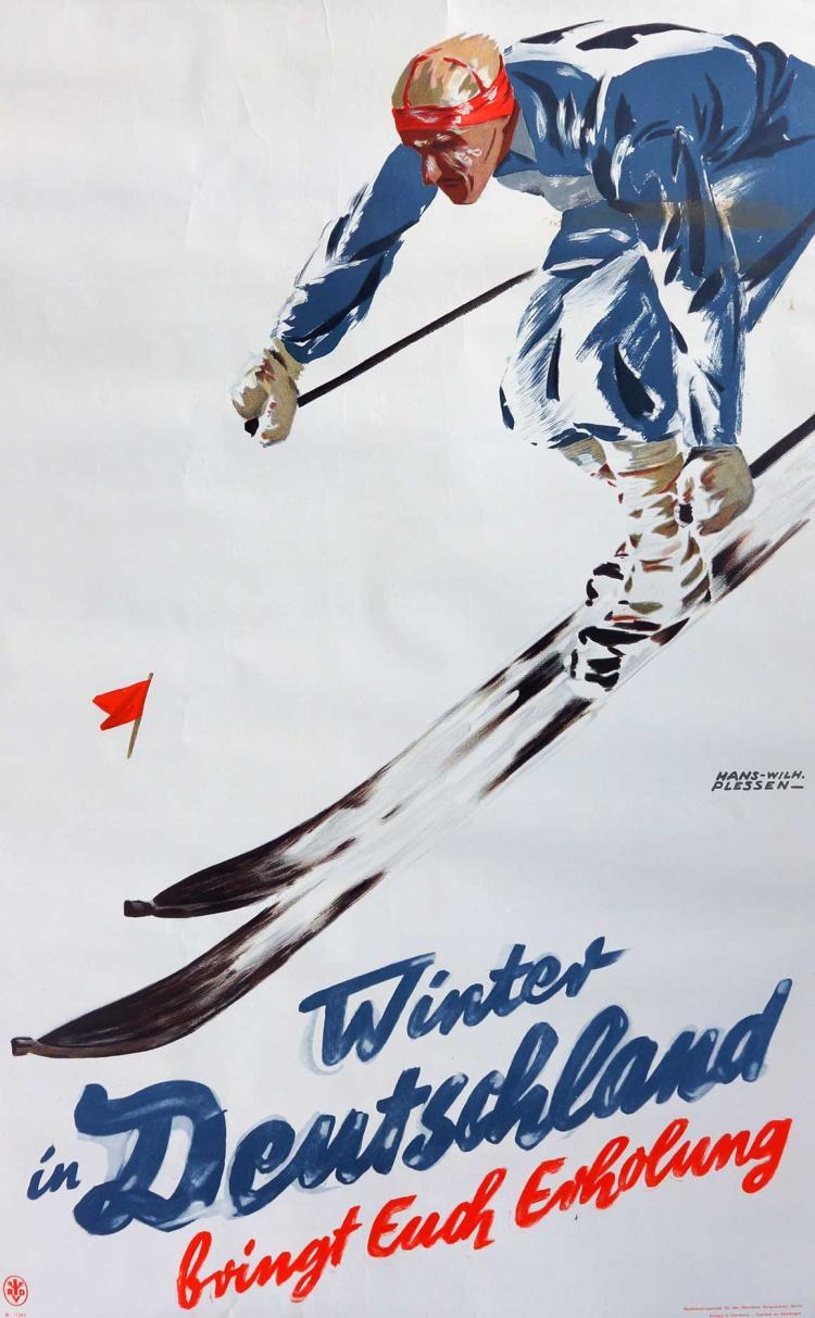 Hans Wilhelm Plessen Winter In Deutschland Poster