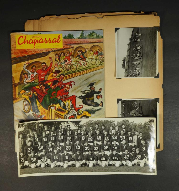 1945 Stanford Football Photo Album
