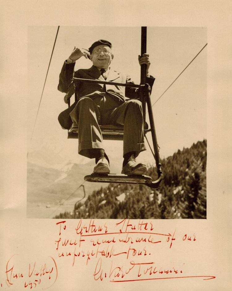 Arturo Toscanini Autographed Photograph