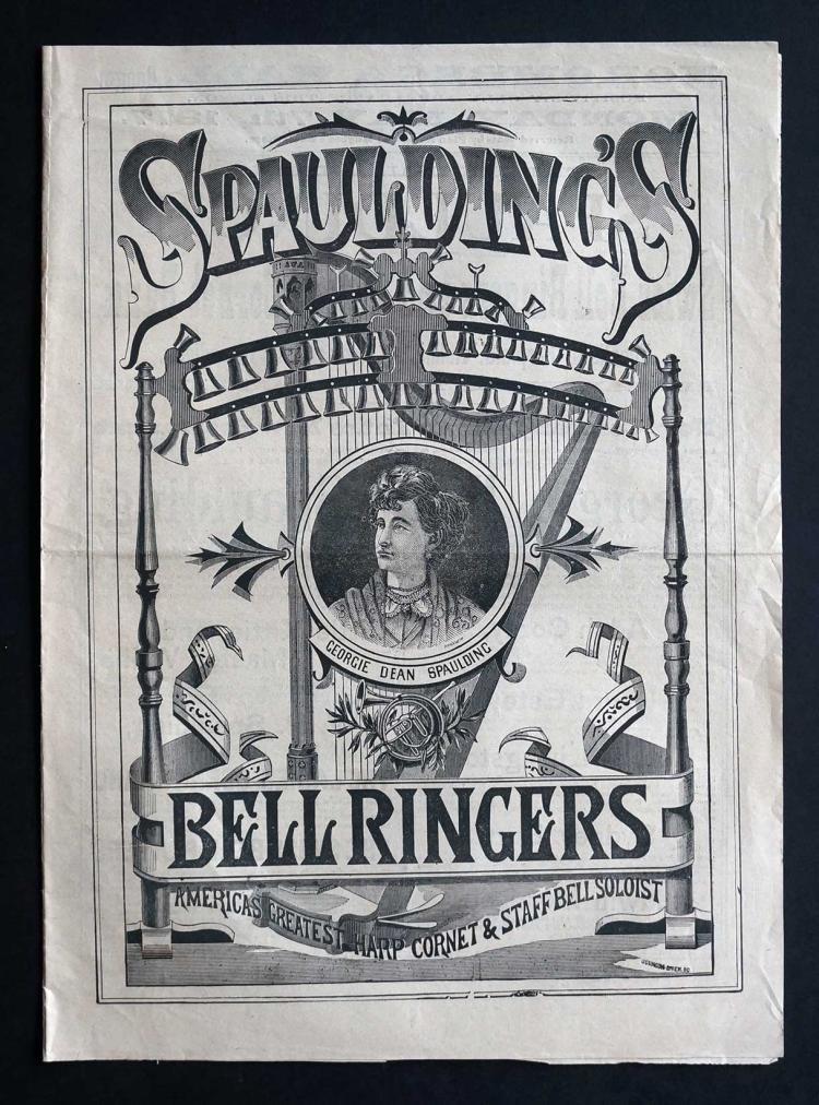 1877 Theatre Program [Spaulding's Bellringers]
