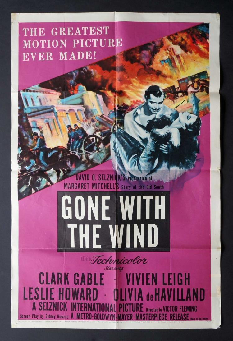 Gone With The Wind (MGM R-1954)