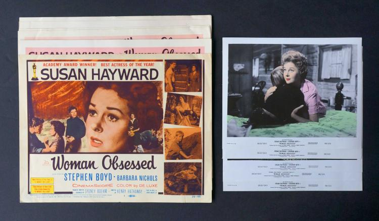 Woman Obsessed (20th Century Fox, 1959) Posters
