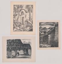 Marie Haines Lithographs