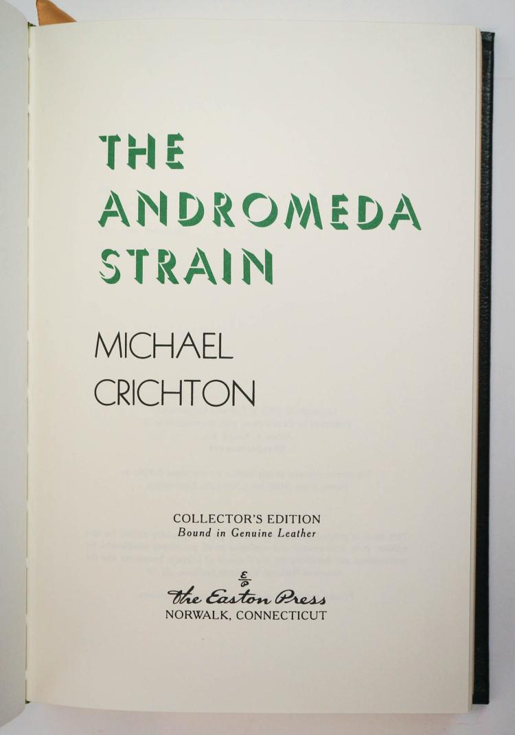 an analysis of michael crichtons the andromeda strain The andromeda strain by michael crichton is a science fiction book about the fictional 'first crisis' in the biological field the book starts out by pointing out that technology is growing so rapidly, there is bound to be crises, like three mile island and chernobyl, and how the biological field of science has never.