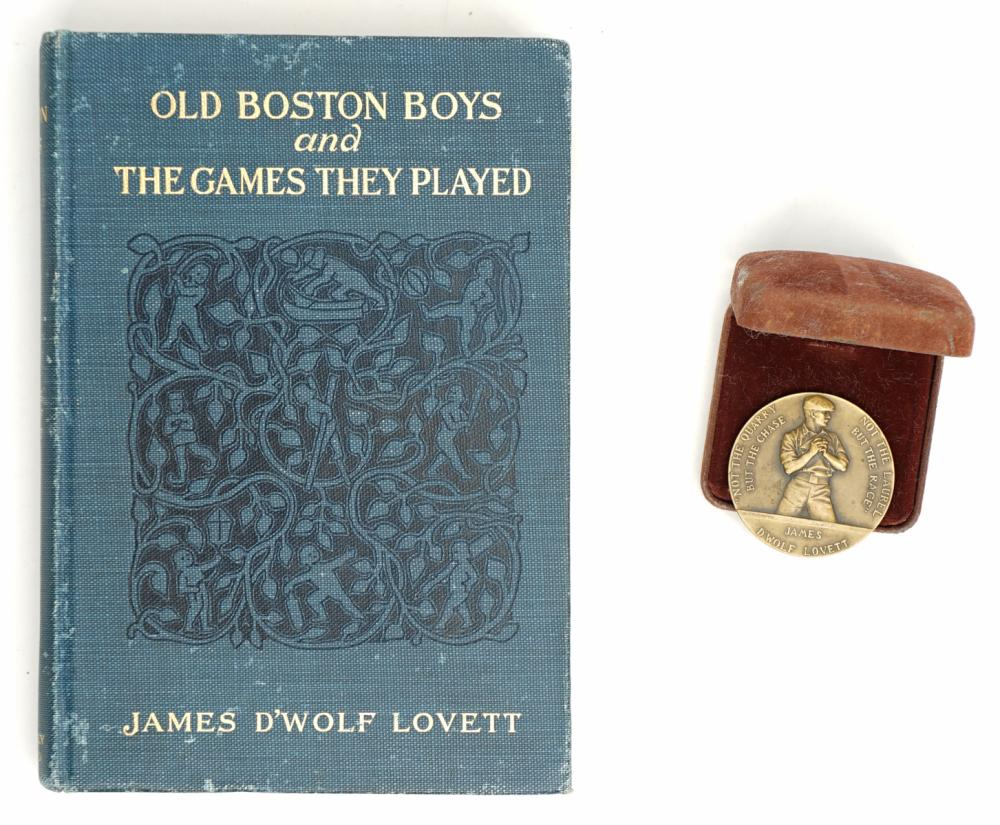 James D'Wolf Lovett Book and Medal