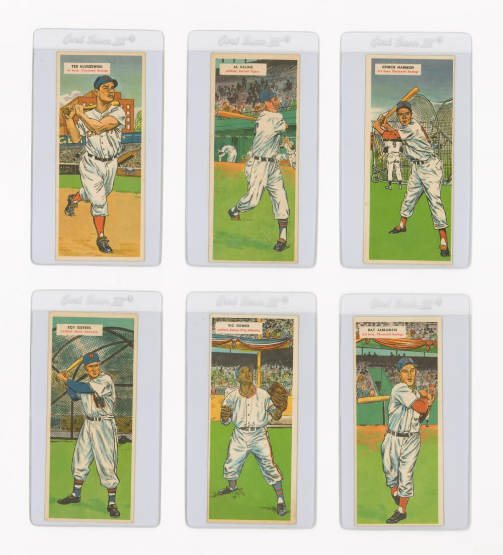1955 Topps Double Headers (6)