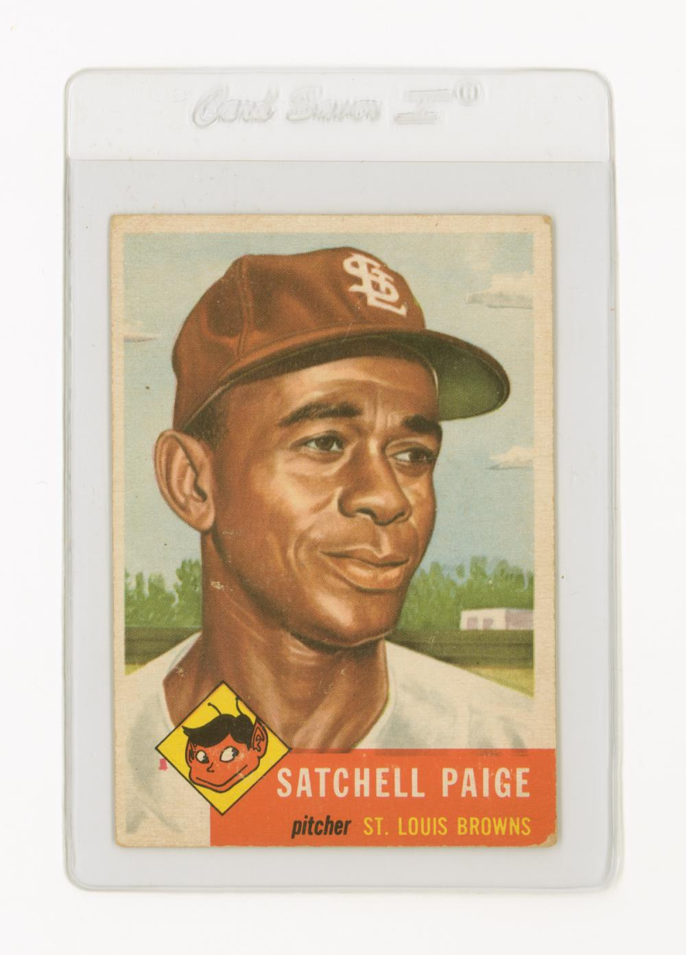 1953 Topps Satchell Paige 220