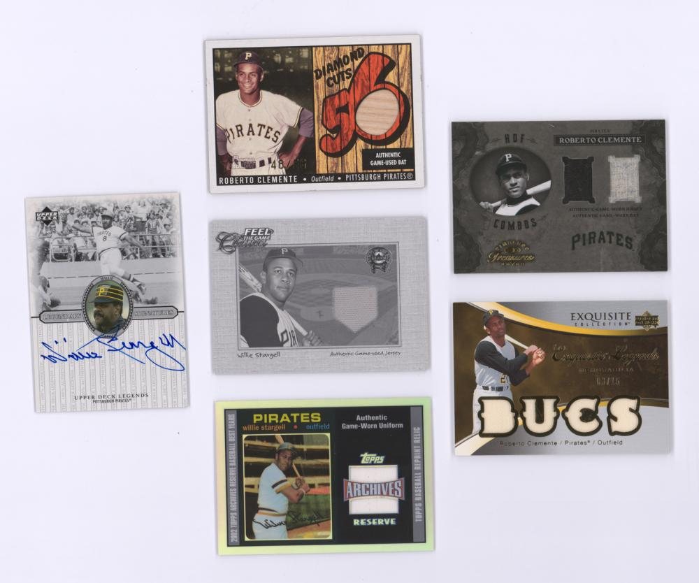 Willie Stargell Game-Used and Autographed Cards