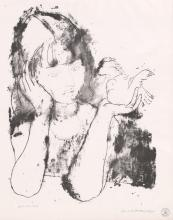 John S deMartelly Stone Lithograph
