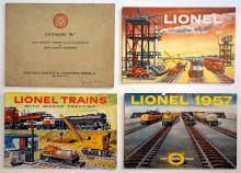 1950s Lionel Train Catalogs