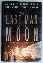 Astronaut Eugene Cernan Inscribed Book