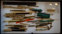 Group of Antique Fancy and Gold Filled Pens etc.