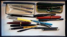 Group of Vintage and Drafting Writing Instruments