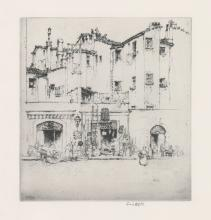 Ernest D. Roth Etching