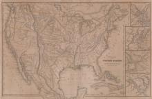 1843 William Woodbridge United States Map