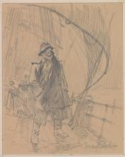 Gordon Grant Original Drawing