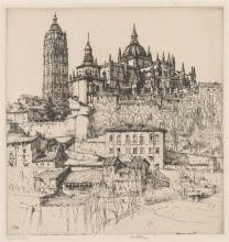 Ernest D. Roth Large Etching
