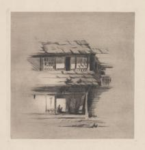 A Fine American Etching [Japanese House]