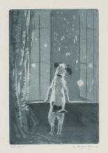 Diana Thorne Etching [Late Again]