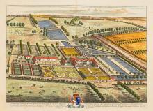 Johannes Kip After L. Knyff Antique British Map