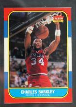 1986-87 Fleer Basketball Charles Barkley RC