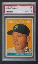 1958 Topps Mickey Mantle PSA 3