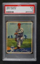 1934 Goudey #19 Lefty Grove PSA 3