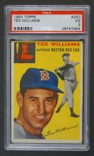 1954 Topps Ted Williams PSA 3