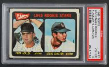 1965 Topps Cardinals Rookies Steve Carlton PSA 4