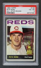 1964 Topps #125 Pete Rose All-Star Rookie PSA 4