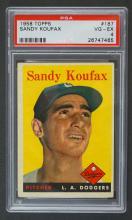 1958 Topps #187 Sandy Koufax PSA 4