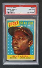 1958 Topps #488 Hank Aaron All-Star PSA 6