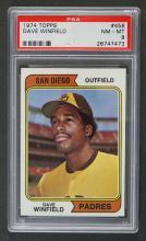 1974 Topps #456 Dave Winfield PSA 8