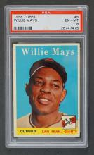 1958 Topps #5 Willie Mays PSA 6