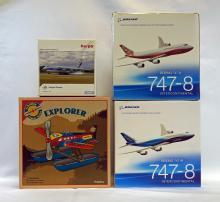Four Airplane Models All MIB