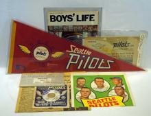 Seattle Pilots Collection of Memorabilia